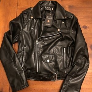 Other - Child's Faux Leather Motorcycle 50's Jacket